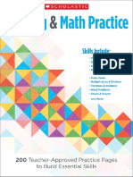 180 Days Of Math Grade 1 Reading And Practice