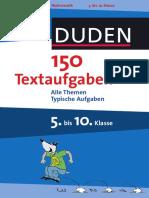 150 Textaufgaben Duden 5 -10 Klasse Probe 10 Eur
