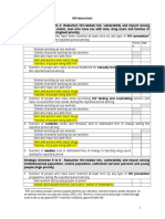HIV Indicators for 3DF Reporting and LogFrames