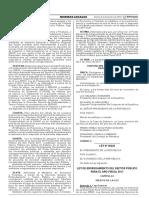 Ley de Endeudamiento del Sector Público para el Año Fiscal 2017