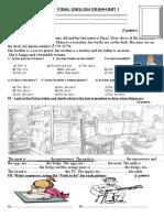 Final Exam-basic I-unit i