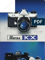 Pentax KX Film SLR Camera Brochure