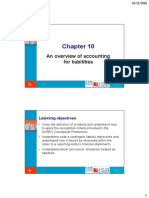 Ch10-Accounting for Liabilities