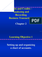 Debits and Credits –Analyzing and RecordingmBusiness Transactions
