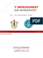Quality Improvement Seminar Workshop