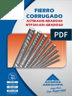 ACERO CORRUGADO A615