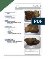 01 Yacimientos Minerales - Porfidos