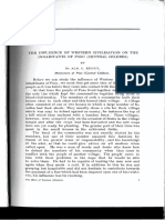 Albert Krujt on the Influence of Western Civilization on the Inhabitants of Poso Central Celebes 1929 in Schrieke Volume
