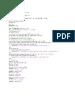 Programa Solución de Un Sistema de Control en Variables de Estado.