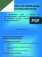 Introdução Aos Problemas Farmacoterapêuticos - Assistência Farmacêutica - Patrícia Sodré Araújo - UNIME