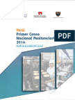Primer censo nacional penitenciario 2016