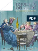 Brillat-Savarin - Fisiologia Del Gusto