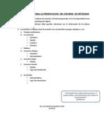 CONSIDERACIONES PARA LA PRESENTACION  DEL INFORME  DE METRADOS.pdf
