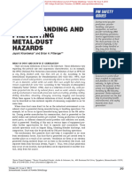 Understanding and Preventing Metal Dust Hazards