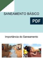 SANEAMENTO BÁSICO RURAL