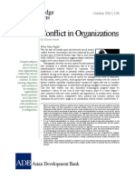 Conflict Organizations
