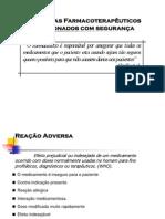 Problemas Farmacoterapêuticos Relacionados Com Segurança - Assistência Farmacêutica - Patrícia Sodré Araújo - UNIME