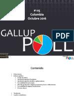 Gallup Octubre 2016