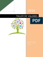 Taller 1 Valores