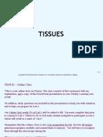 Tissue Online Class Fall 2016
