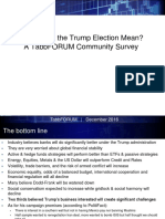 Trump Election - What Does It Mean