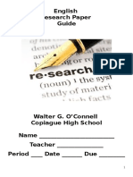 Research Packet