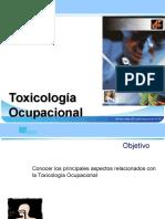 Toxicologia Ocupacional 1