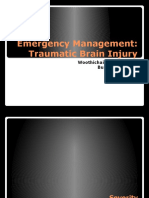 Emergency Mx TBI