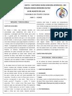 2 - Folheto Da Missa - Porta Santa - Equipe de Liturgia (1)