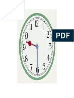 Clock Flashcard