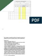 Exemplo de Formulario Complementar a Análise Preliminar de Riscos (APR)
