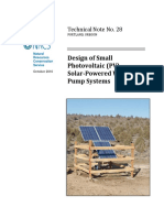 Oregon Tech Note 28 - Design of Solar Pumps