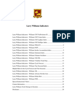 Larry Williams Indicators