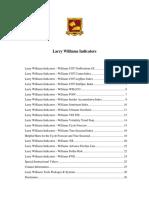 Larry Williams Indicators