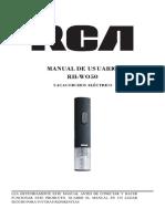 RH-WO50OK Revised Manual