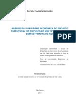Rafael Tamanini Machado - Projeto Estrutural De Edifícios Com Estrutura De Aço.pdf