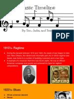 music timeline timjadiaand tess
