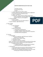 A.P Chem Sem Exam Outline 2016