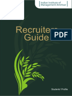 Recruiters Guide