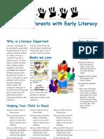 teaching reading newsletter