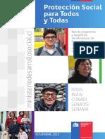 Guia de Proteccion Social Para Todos y Todas (Red de Programas y Beneficios Del Ministerio de Desarrollo Social)