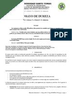 Ensayo Dureza 1020