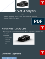 tesla market analysis