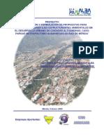 PAMALBA Documento I El Proyecto de Investigación