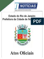 Atos Oficiais de Nova Iguaçu 02-11-16
