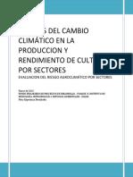 Efectos Del Cambio Climatico en La Agricultura