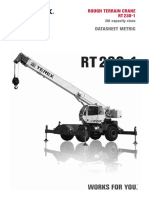Gruas Rought Terrain Rc Terex Rt230 1