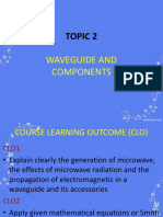 Topic 2 Waveguide and Components 1