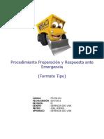 PR-PM-013 Procedimiento Preparación y Respuesta ante Emergencia (Tipo).pdf