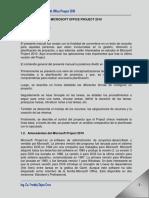01 Manual Project 2010 Introducción